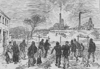 The Leycett Colliery Disaster - The Explosion